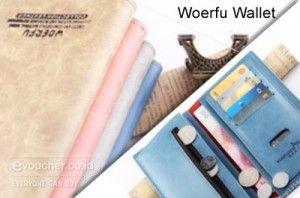 Woerfu Wallet Dompet Elegan Dengan Banyak Sekat Yang Dapat Menyimpan Uang, Kartu Dll Lebih Banyak Hanya Rp.105,000 - www.evoucher.co.id #Promo #Diskon #Jual  Klik > http://evoucher.co.id/deal/Woerfu-Wallet  Terkadang kita membutuhkan sebuah dompet yang dapat membawa Uang (baik kertas / logam), Kartu Debit, Kredit Card, Kartu Nama, Kartu Anggota, Kertas Bukti Transfer dll. Woerfu Wallet Didesain berdasakan kebutuhan tersebut, Serta memiliki desain simple & elegan yang coco