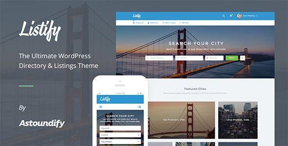 Download Directory-Listify WordPress Theme