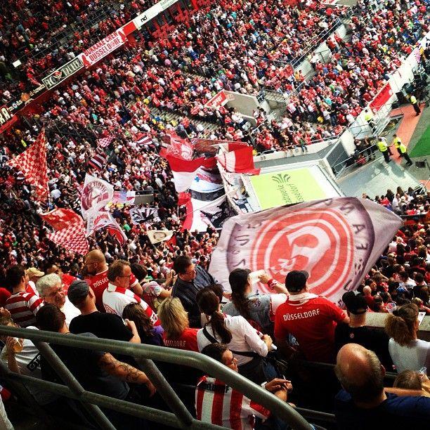 Freitagabend im Stadion - wo auch sonst ;-) #fortuna #f95