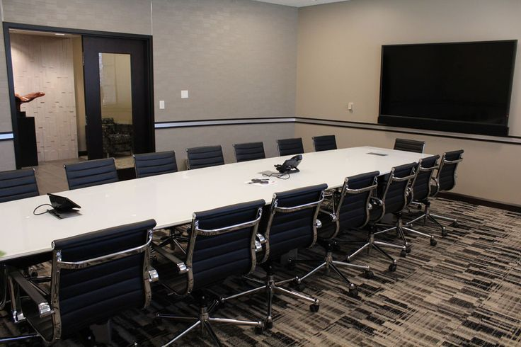 Heyl Royster Peoria IL Large Conference Room Furniture By Widmer Interiors