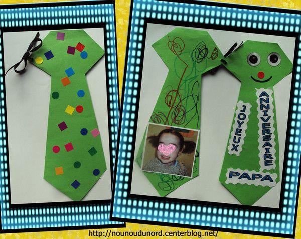 carte cravate réalisée pour un anniversaire cadeau idéal aussi pour la fête des pères gabarit sur mon blog Pot à crayon pour la fête des pères http://nounoudunord.centerblog.net/2056-pot-a-crayon-pour-la-fete-des-peres