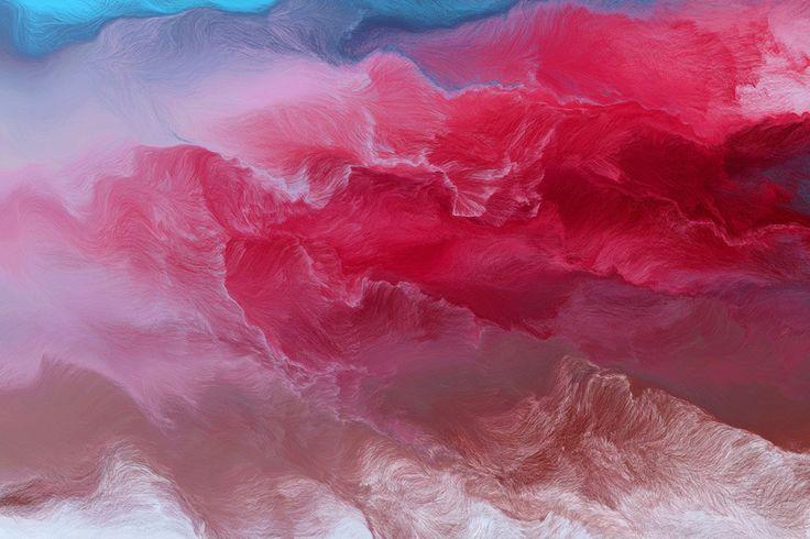Las pinturas generativas de Andreas N.Fischer