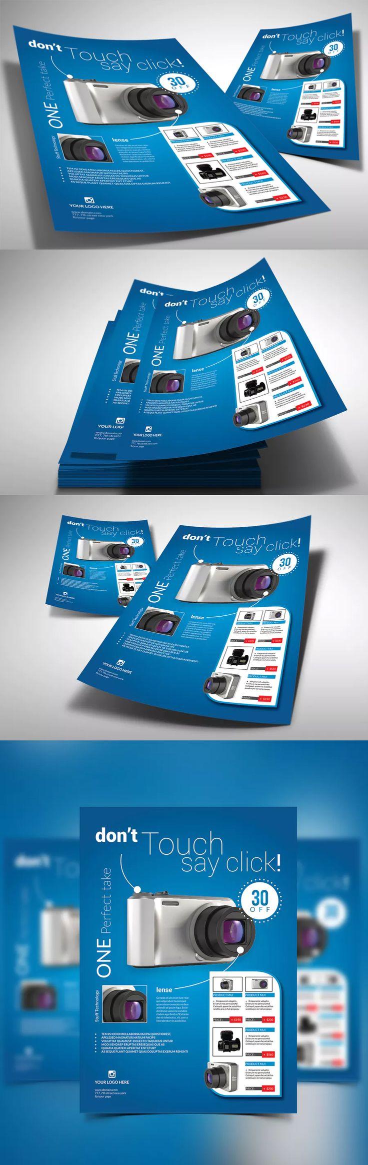 Best Flyer Design Templates Images On