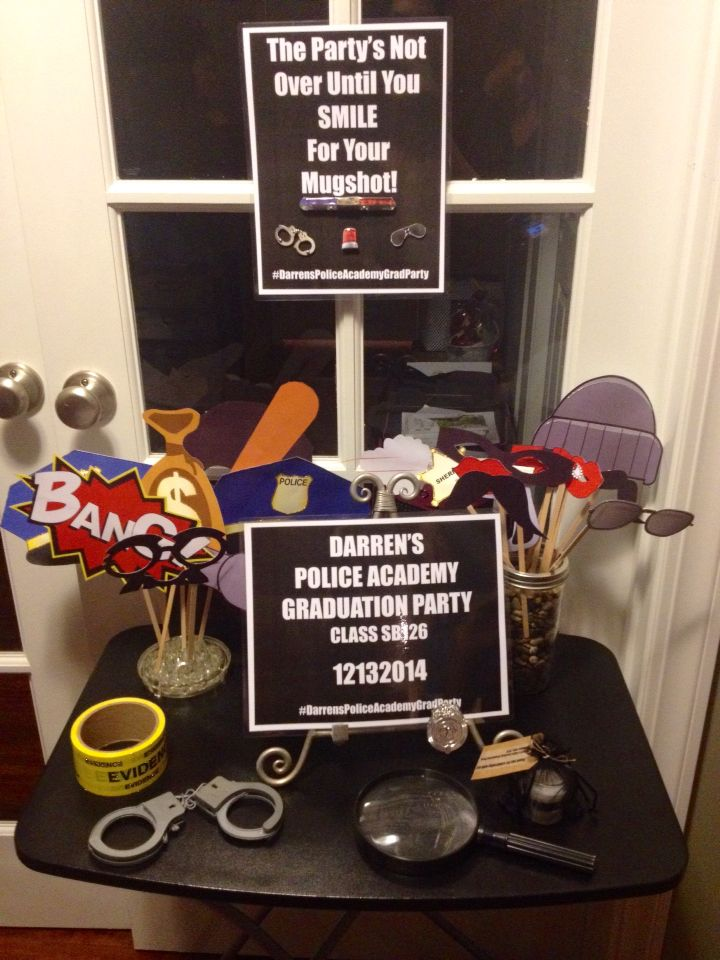17 Best Ideas About Police Retirement Party On Pinterest