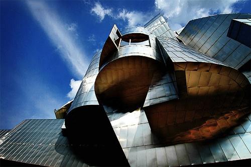 WAM Weisman Art Museum, Minnesota, Minneapolis, USA, Frank Gehry.  i grew up not far from here.