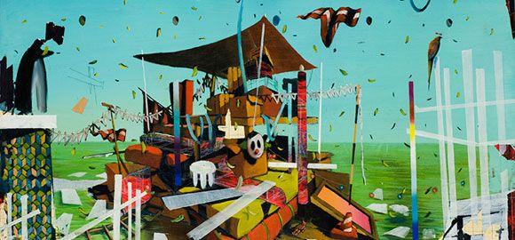Luca Moscariello costruisce le sue opere pittoriche attraverso una progressione di ossimori,dicotomie tra l'apparenza dei colori ed il profondo silenzio. http://dress-art.it/blog/luca-moscariello