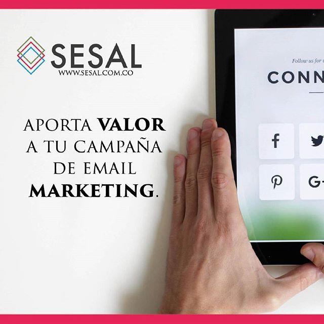 Para convertir suscriptores en clientes aporta valor a tu campaña de email marketing a través del contenido. Luis Montaño @luismontano  #sesal #marketing #venezuela #colombia #españa #venezolanosencolombia #marketing #marketingdigital #creamostuempresa #emprende #ssl#salud #empresas #sisepuede