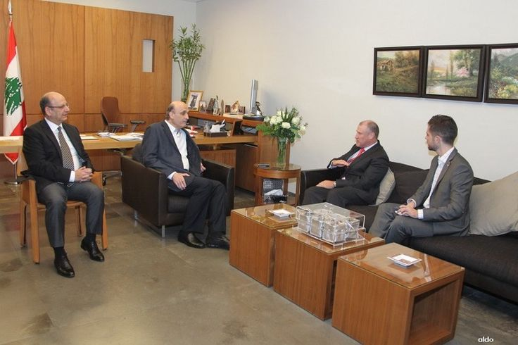 Samir Geagea, Miles discuss ways to unify efforts against terrorism