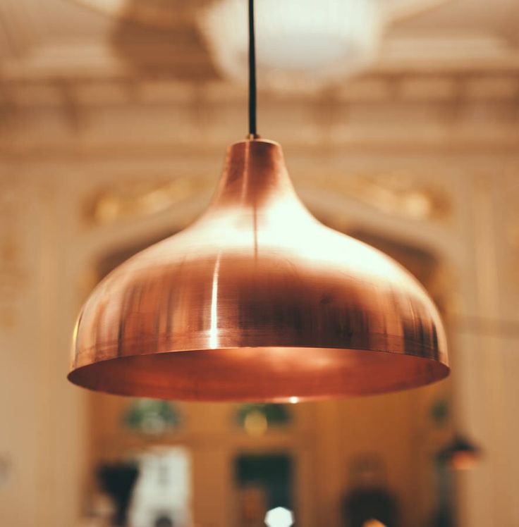 "I've just found Vienna 30 Medium Pendant Lamp, Copper. Vienna Copper Lamps have been developed by VOLDAAN DESIGN and SUPERSENSE for their unique ""Palace of Analog Delicatessen"" in the heart of Vienna.. £290.00"