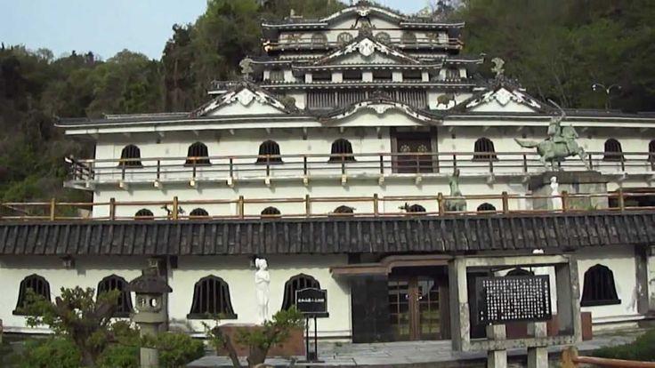SAWAYAMA Castle有名な佐和山遊園ー個人で建てられた石田三成・佐和山城