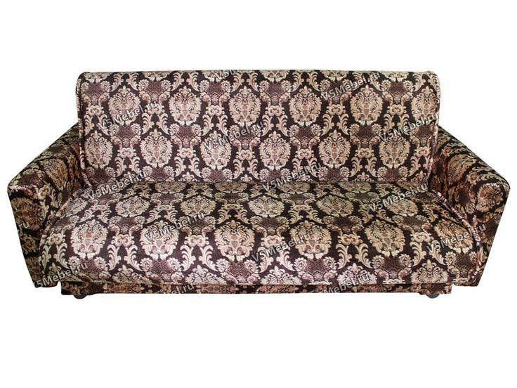 «Велюр» Диван раскладной, темно-коричневый | V5 - интернет магазин мебели