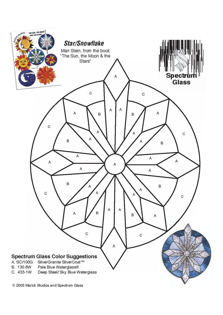 297 Best Free Stained Glass Patterns Images On Pinterest