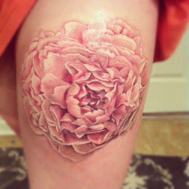 tatuagem de peônia 4