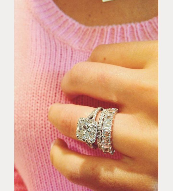 25 best ideas about stacked wedding rings on pinterest silver band wedding rings stacked wedding bands and metallic plus size jewellery - Stacked Wedding Rings