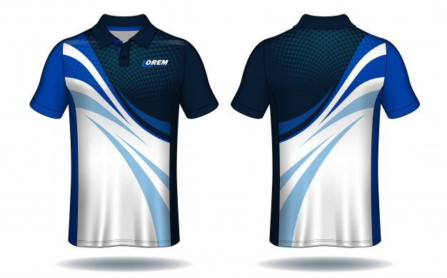 T Shirt Polo Design Sport Jersey Template Premium Vector Sports Tshirt Designs Sport Shirt Design Polo Design