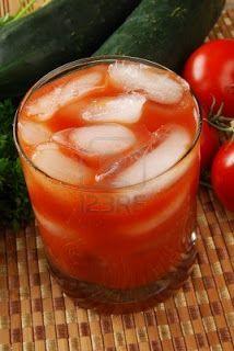 licuado para bajar de peso: pepino-tomate-apio