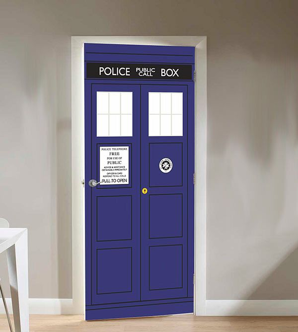 So I Guess This Door Cling Would Be A Lot Easier Than Making Joe Build Me A  Tardis From Scratch Just To Be A Closet Entrance. ThinkGeek :: Doctor Who  TARDIS ... Part 71