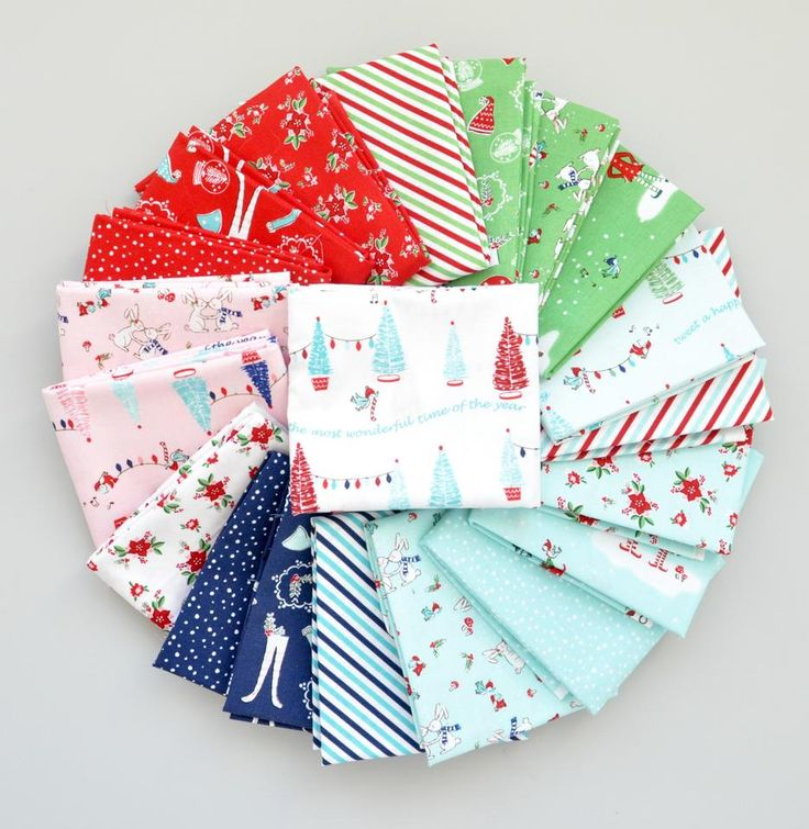 Pixie Noel Half Yard Bundle