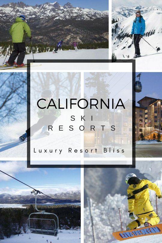 Top California Ski Resorts