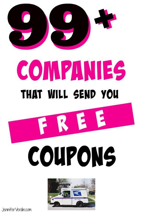 99 Companies That Will Send You Free Coupons In The Mail With Images Free Coupons By Mail Where To Get Coupons Free Coupons