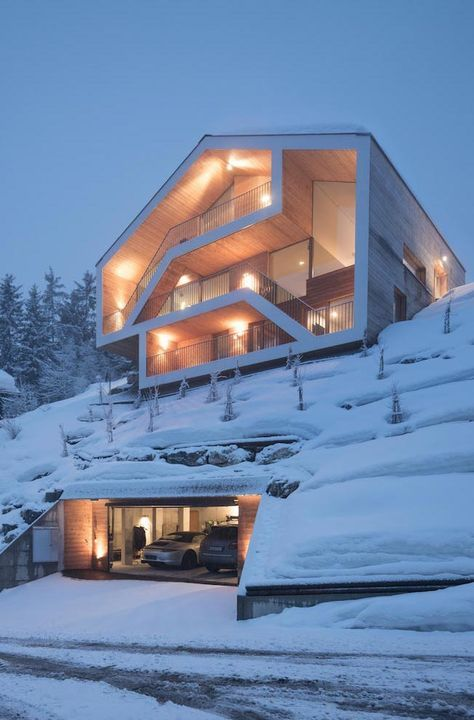 if i lived somewhere with an unForgivable winter, i would love a house like this one