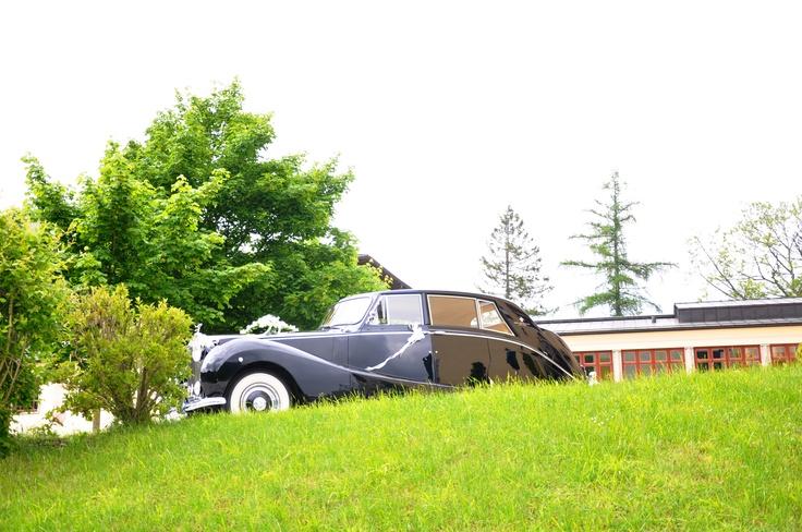 Wedding.Vintage Car. Austria. Fuschl. #By Devika Narain