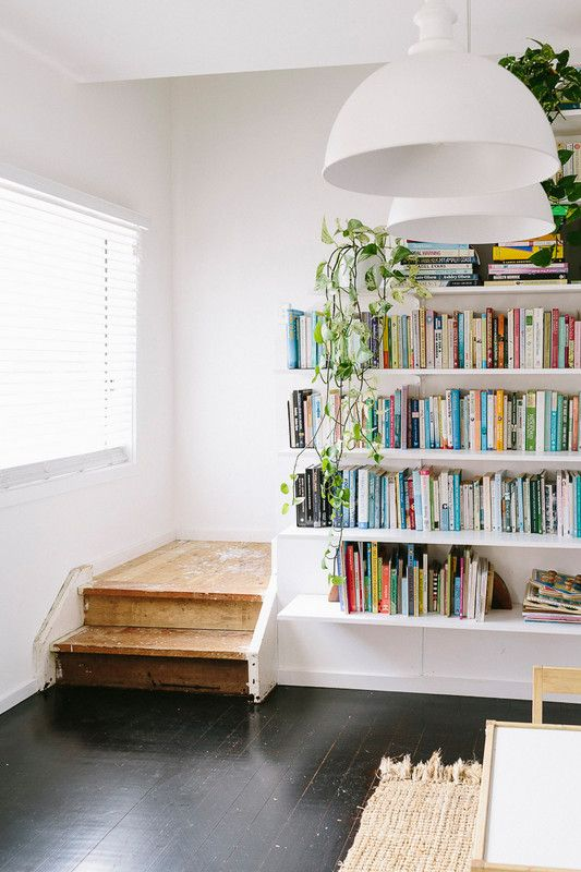 dreamy floating shelves