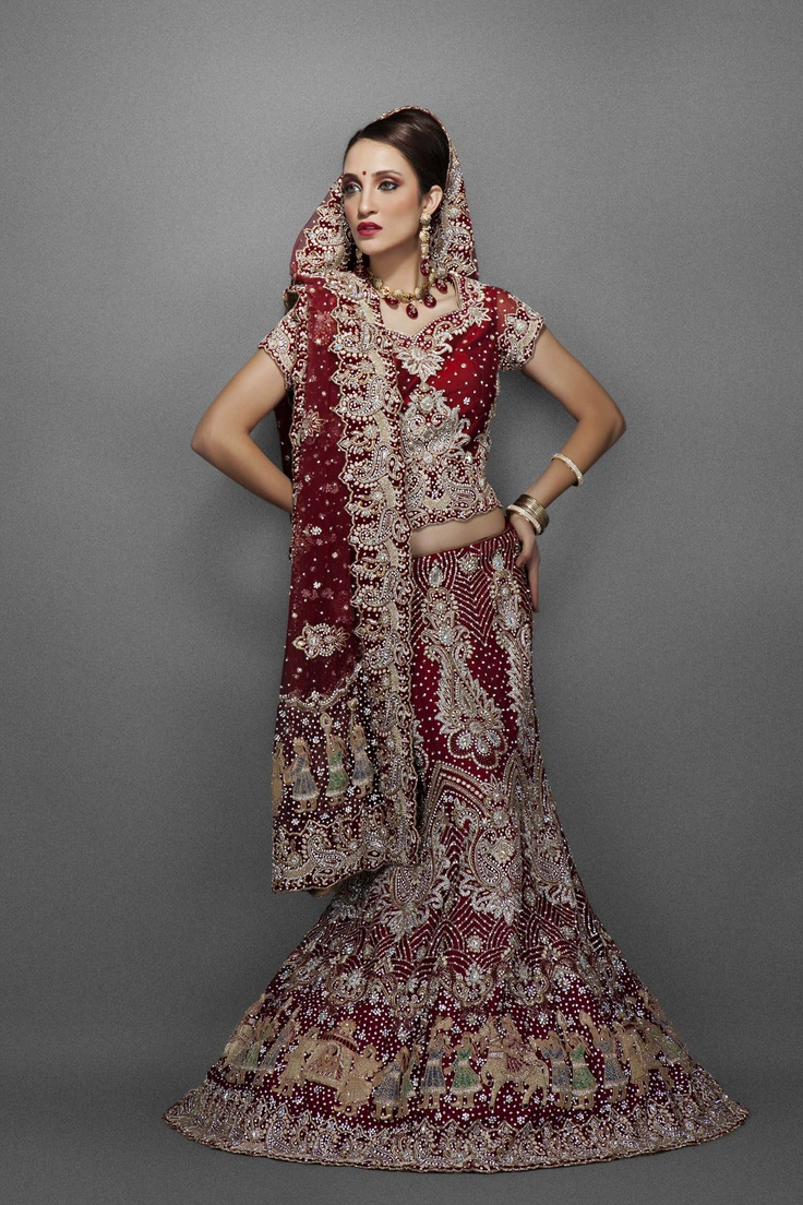 Great Designer Indian Wedding Outfits Available On Different Deigns Latest Style With Ethnic Embroidery