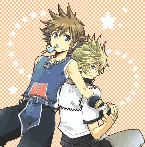 Sora and Roxas                                                                                                                                                     Más