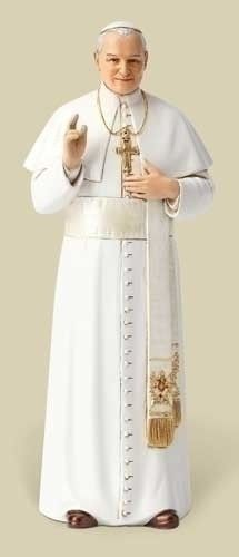 "Pope St. John Paul II Figure 6""Scale Renaissance Collection from Joseph's Studio for Roman Inc."