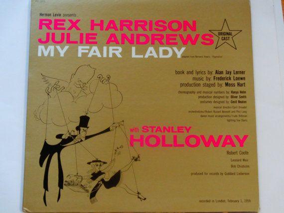 My Fair Lady  Original London Cast Recording  by notesfromtheattic