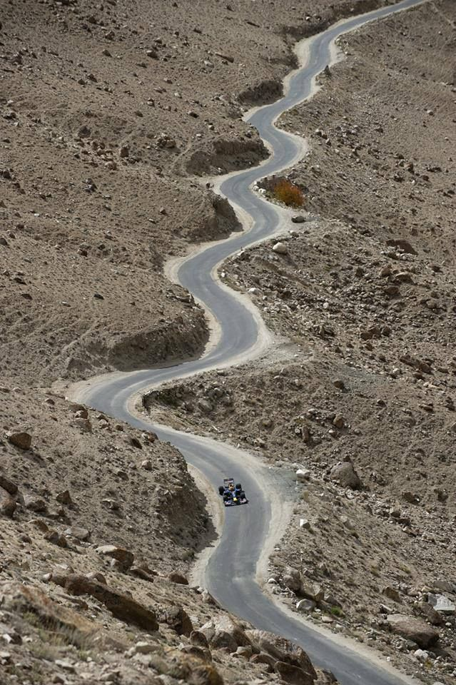 Are there any roads like this where you live? #redbull #f1