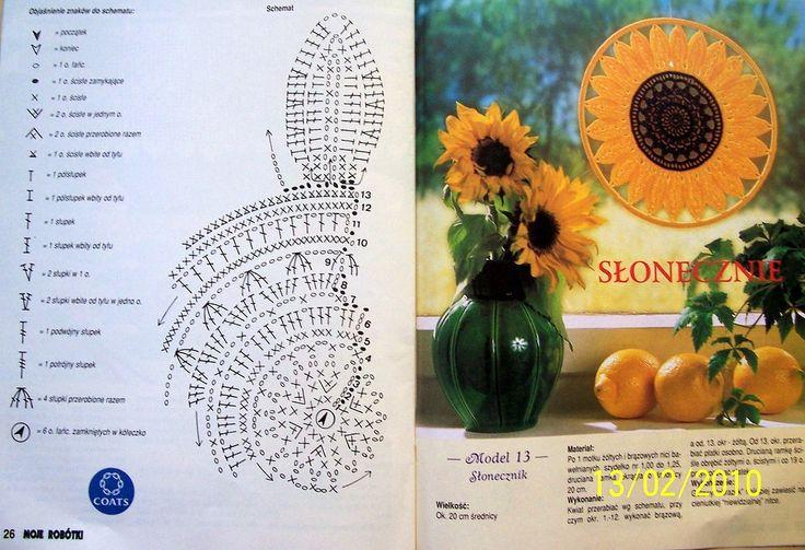 Sunflower pattern 13