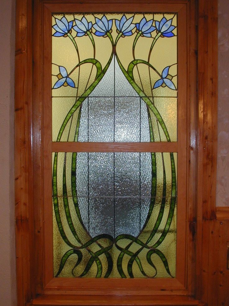 Arts And Crafts Architecture Hand Made Custom Stained