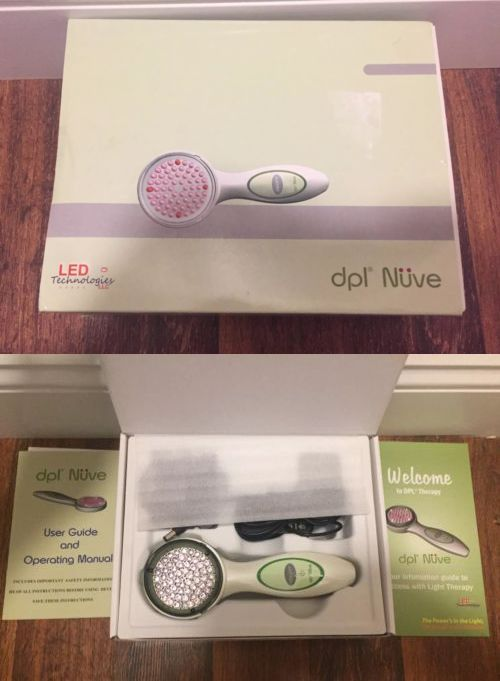 Light Therapy Devices: Led Technologies Dpl Nuve Handheld Wrinkle And Pain Remover Therapy Device New -> BUY IT NOW ONLY: $59.99 on eBay!