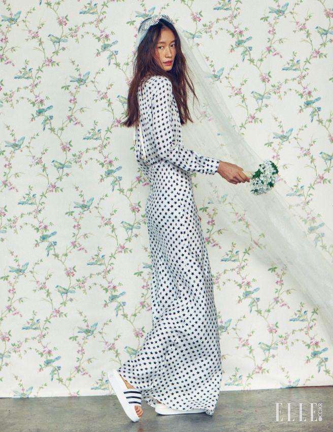 Park Se-ra // Elle Korea