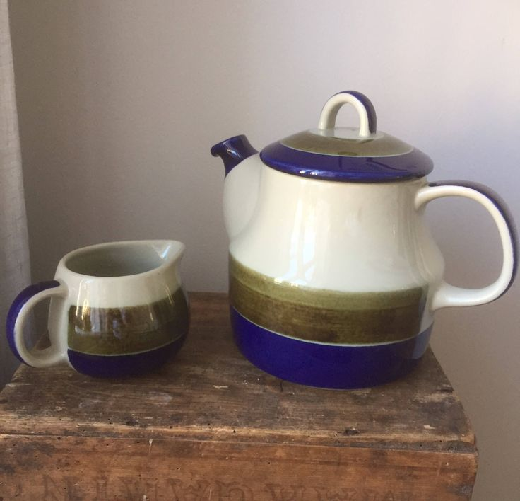 A personal favorite from my Etsy shop https://www.etsy.com/ca/listing/552326431/swedishteapotcreamer-marianne-westermann
