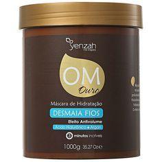 thumb Yenzah OM Ouro Máscara de Hidratação Desmaia Fios - Máscara de Tratamento 1000g