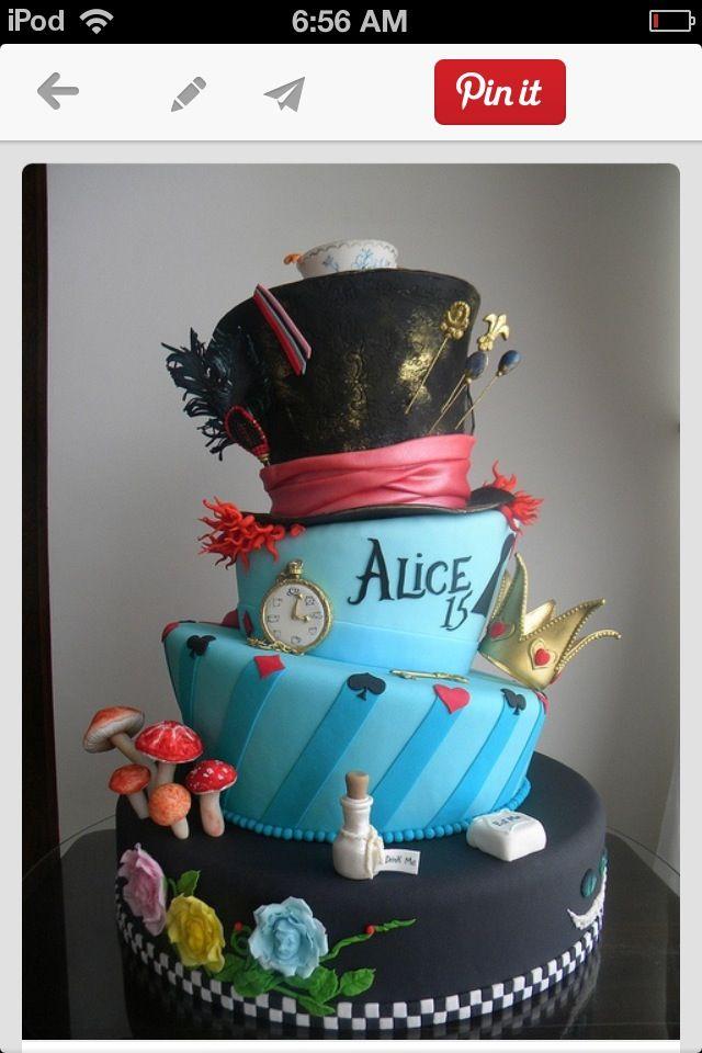 Alice in wonderland so creative