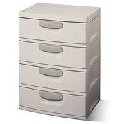 Sterilite 4-Drawer Cabinet