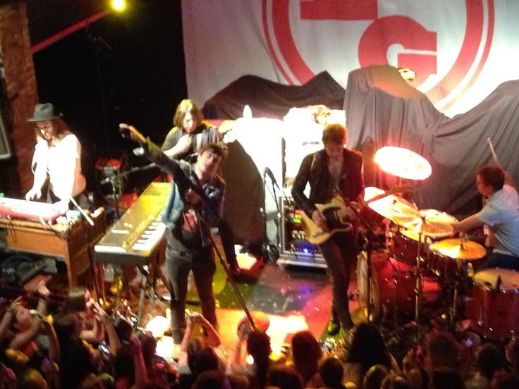 (4) Andy Grammer Concert April 19th, 2013 at Freebird Live (Parachute Opening Performance 2)