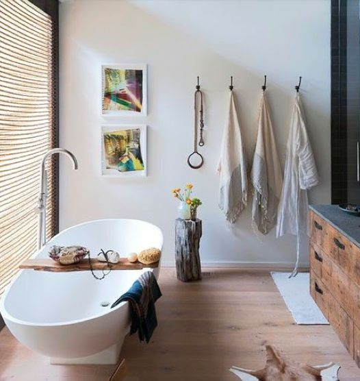 "Rosa Beltran Design: ""ORGANIC MODERN"" BATHROOM DESIGN"