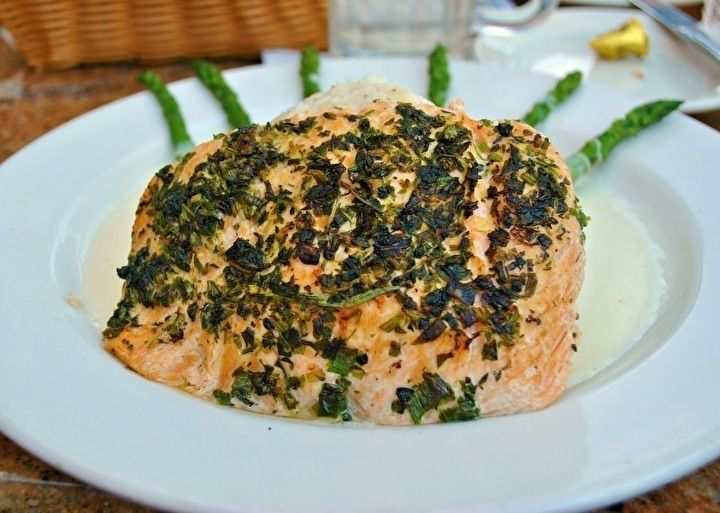 Cheesecake Factory Herb Crusted And Lemon Butter Salmon