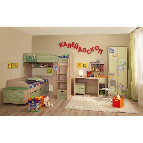 Комплект детской мебели Глазов-Мебель Калейдоскоп К2