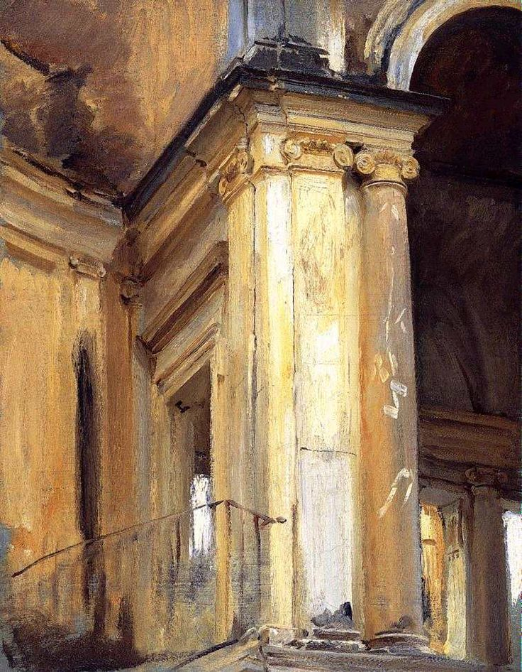 John Singer Sargent: Roman Architecture