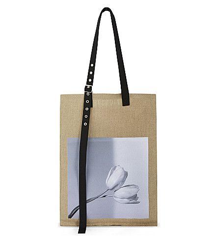 RAF SIMONS Tulip Tote. #rafsimons #bags #hand bags #tote #
