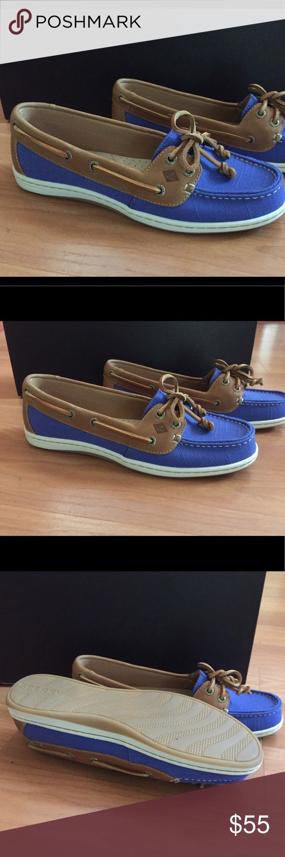 Sperry Top Sider Firefish Baltic Blue Boat Shoe Excellent condition Sperry Top Sider Firefish Baltic Blue Boat Shoes.  Women's size 8. Worn once. Sperry Top-Sider Shoes Flats & Loafers