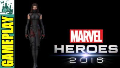 Marvel Heroes 2016 Elektra Gameplay #2