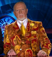 Don Cherry. Never know what he's going to wear next.