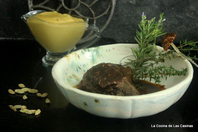 La Cocina de las Casinas: Carrilleras de Ternera Asturiana y Compota de Manz...